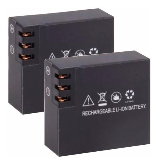 Kit 2 Carregadores + 2 Baterias De Câmera De Ação - Promoção