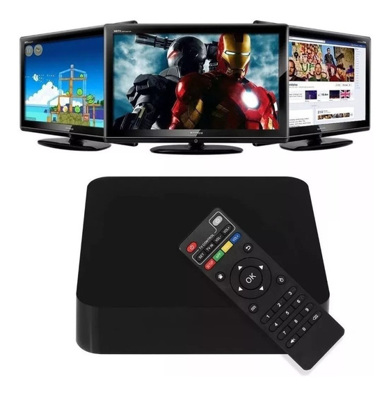 Conversor Smart Tv 3gb Ram 16gb Teclado Android 8.1