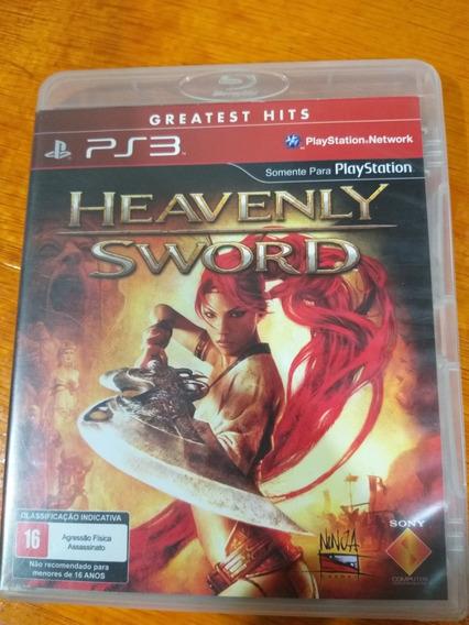 Heavenly Sword Ps3 Midia Fisica