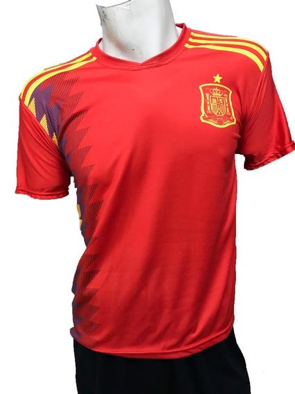 Playera Selección España Marca Pemol Dry Fit