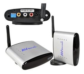 Transmissor E Receptor Audio Video Extensor Wireless Sem Fio