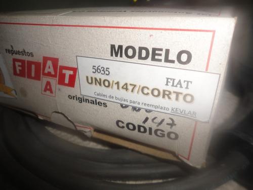 Cables De Bujias Fiat Uno 147 / Tucán Con Garantía