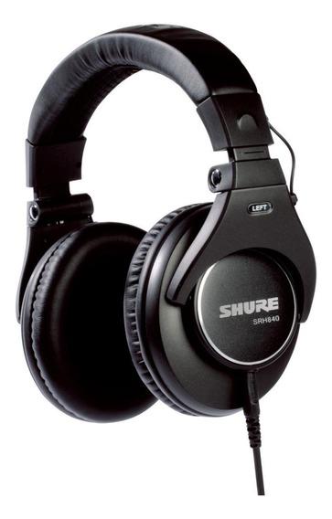 Fone de ouvido Shure SRH840 preto