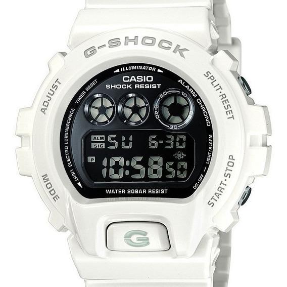 Relógio Casio G-shock Masculino Branco - Dw-6900nb-7dr