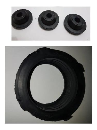 Imagem 1 de 1 de Kit Borracha Vedação + 3 Coxins Da Caixa Do Filtro De Ar