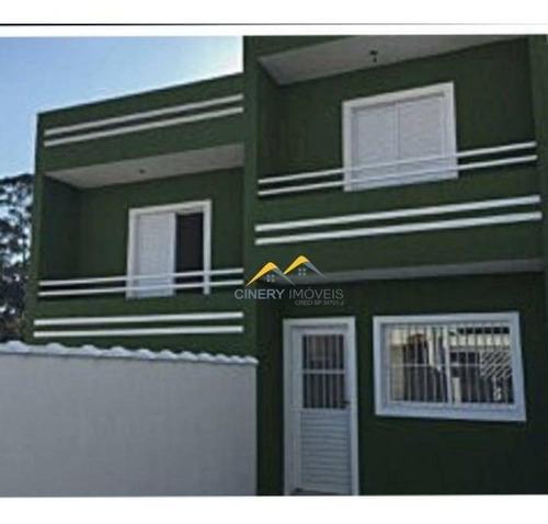 Sobrado À Venda, 65 M² Por R$ 265.365,62 - Vila Nancy - São Paulo/sp - So0043