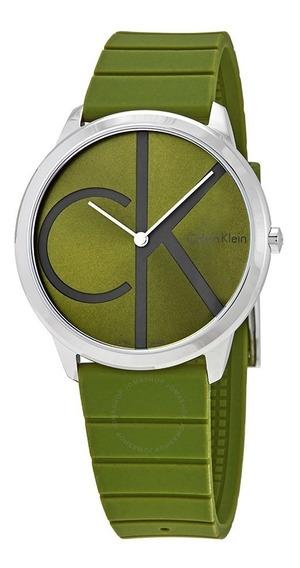 Reloj Calvin Klein Minimalista Cuarzo K3m211wl Envio Gratis