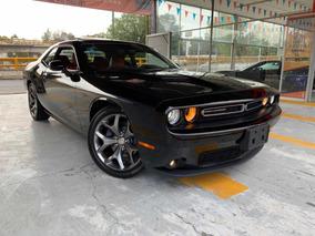 Dodge Challenger Black Line V6 Piel Quemacocos Rin 20 2016