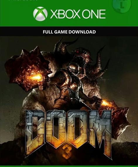 Doom 3 Xbox One Xone Código 25 Dígitos Envio Rápido Comprar