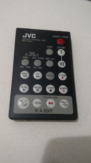 Controle Remoto Unit Jvc Rm-v700u Original