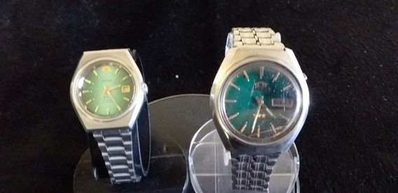 Lote 2 Relógios Orient