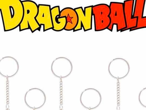 Llaveros Dragon Ball 12 Unidades