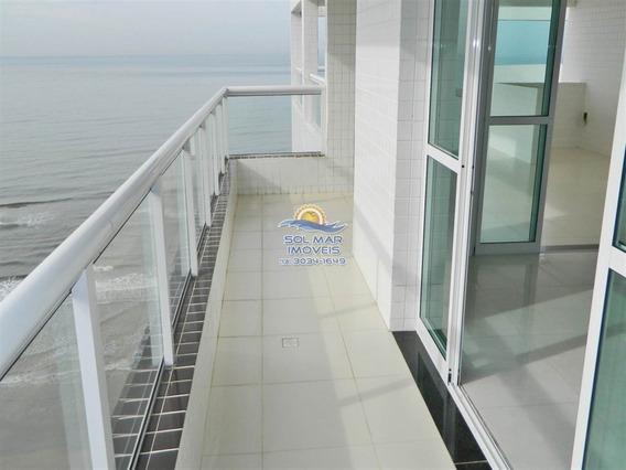 Cobertura Vista Total Mar-mongaguá-praia Grande - Sp452
