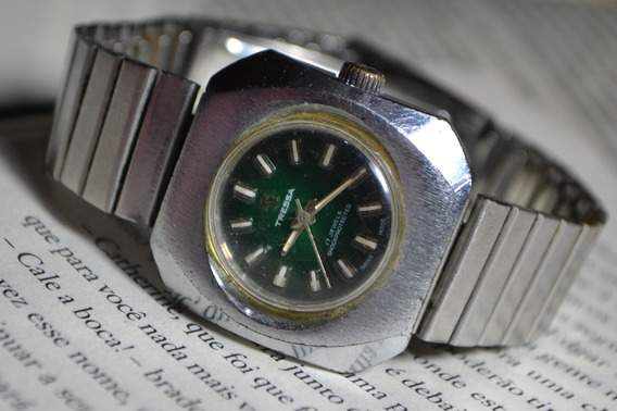 Relógio Feminino Tressa 17 Jewels Shockprotected