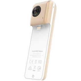 Câmera Panorâmica Insta 360° Vr Nano Gold iPhone 7 6s Promo