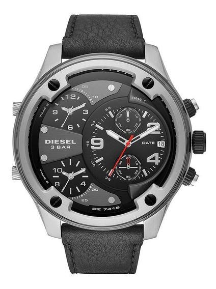Relógio Diesel Masculino Boltdown Prata Dz7415/0pn