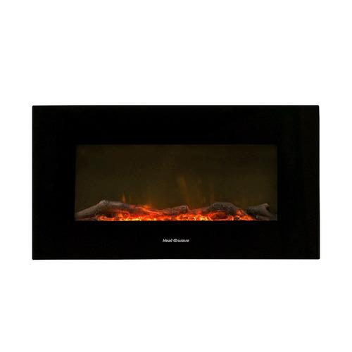 Imagen 1 de 8 de Calentador Calefactor Electrico Chimena Empotrable Heat Wave