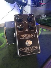 Pedal Mesa Boogie Throttle Box Distortion / Pedal Distorção