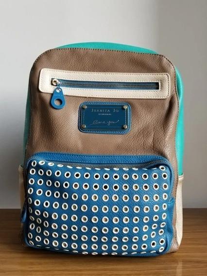 Mochila Juanita Jo Original Diseño.