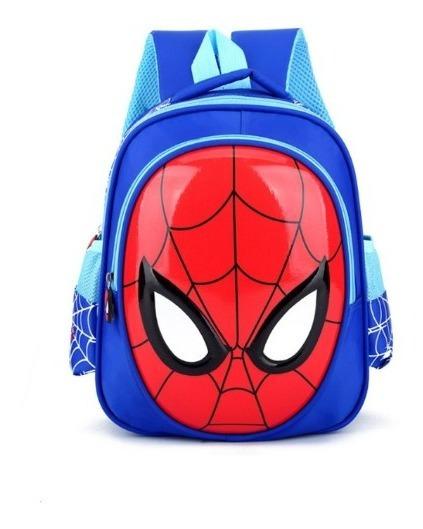 Mochila Bolsa Infantil Menino Homem Aranha Spider Man