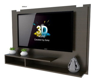 Panel Rack P/led Tables Tv Con Repisa. Incluye Soporte P/led