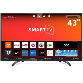 Smart Tv 43 Aoc Le43s5970s Hd Conversor 3 Hdmi 2 Usb Wifi