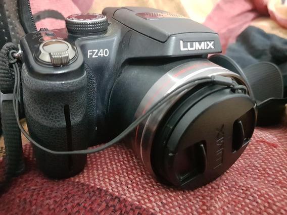 Câmera Digital Semi Profissional Lumix Panasonic Dmc-fz40