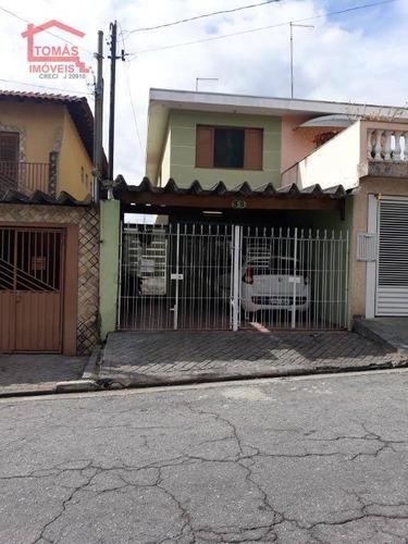 Imagem 1 de 22 de Sobrado Jardim Regina - So1892