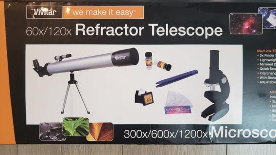 Telescopio / Microscopio Vivitar 60x/120x