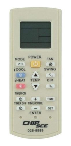 Controle Remoto Para Ar Condicionado Universal Chip Sce