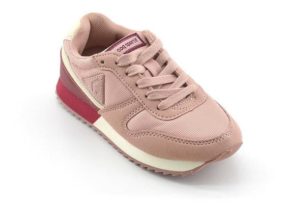 Zapatillas Le Coq Sportif Niños Alpha 2 Jr -pink