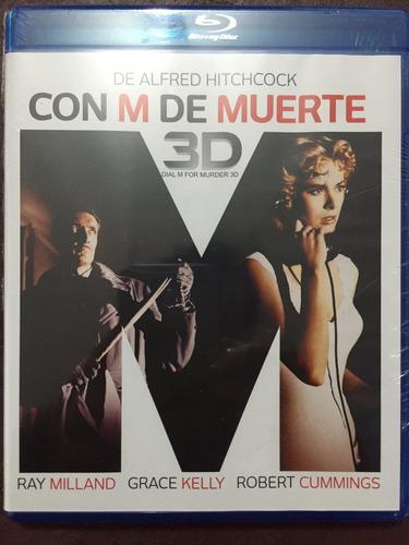 Blu-ray Dial M For Murder / La Llamada Fatal 3d + 2d
