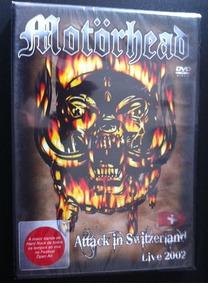 Dvd Motorhead Attack In Switzerland Live Frete Grátis Origin