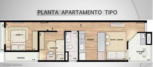 Imagem 1 de 20 de Apartamento À Venda, 53 M² Por R$ 362.000,00 - Parque Das Nações - Santo André/sp - Ap12085