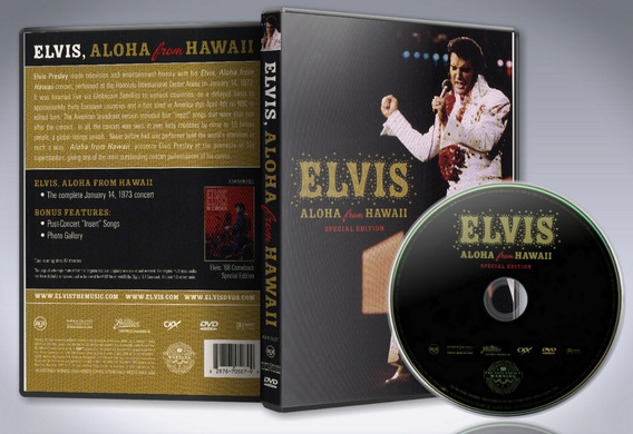 Dvd Elvis - Aloha From Hawaii (special Edition) 1973