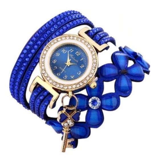 Relógios Feminino Pulseira Em Couro Lindo