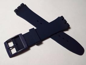 Swatch Correa Reloj Repuesto Silicona 19mm Azul