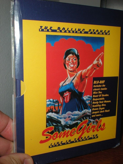 Blu Ray The Rolling Stones - Some Girls - Lacrado