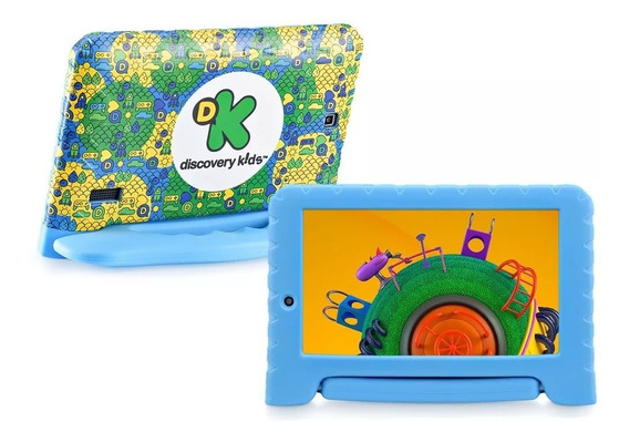 Tablet Infantil Discovery Kids 7 Wifi Bluetooth 8 Gb Nb290