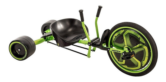 Huffy - Triciclo Para Derrapes Green Machine Easy To Asemble