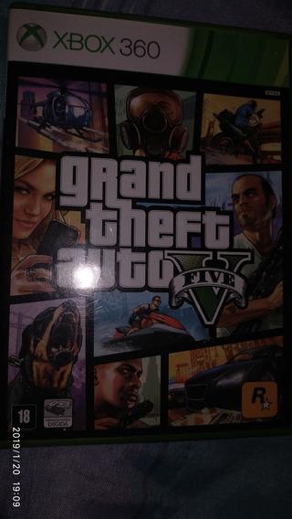 Jogo Gta V ( Gta 5 ) - Xbox 360!!! Mídia Física, Original!!!