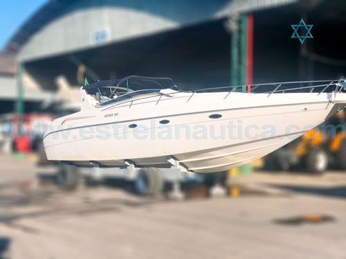 Imagem 1 de 9 de Lancha Runner 380 Iate Ferretti Phantom Triton Focker Fs