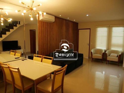 Sobrado Com 2 Dormitórios À Venda, 120 M² Por R$ 839.000,00 - Jardim - Santo André/sp - So0091