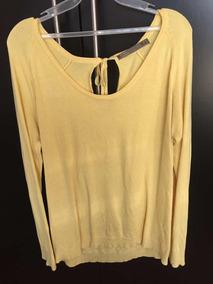 Sweater Amarillo Sfera Talla Mediano Envio Gratis Dhl