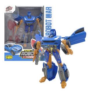 Transformer Super Robot Muñeco Transmutes Auto Juguete