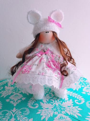 Muñecas Rusas! Muñeca Totalmente Artesanal De 40 Cm.