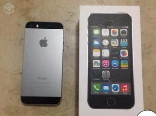iPhone 5s 16gb Com 3 Capinhas+ Acessorios Na Caixa Preto