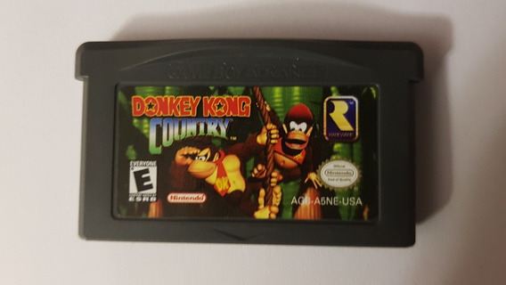 Jogo Donkey Kong Country Para Gameboy Advance Original