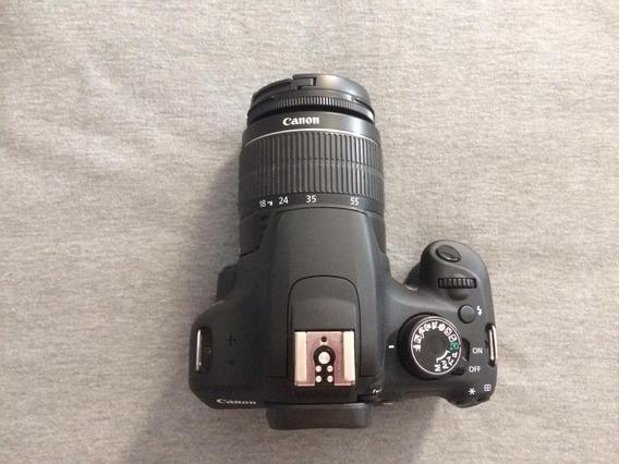 Câmera Canon T5 + Lente 18-55 E Duas Baterias