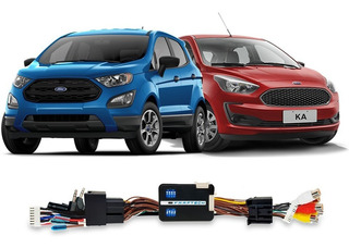 Interface De Vídeo Ford Ecosport E Ka 2020 Tela 7 Ft-vf-frd5